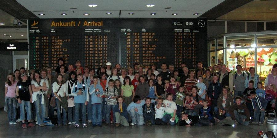 Flughafenbesichtigung Stuttgart 2007