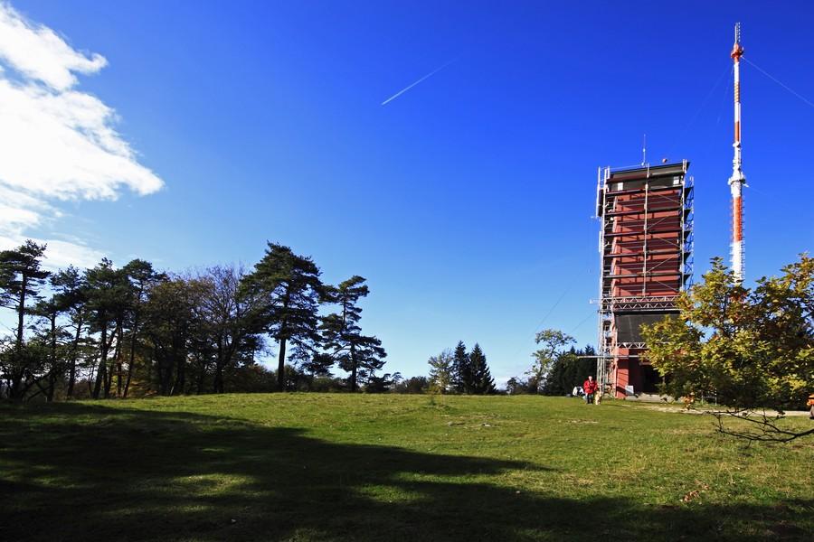 Sanierung Raichberg-Turm Oktober 2014