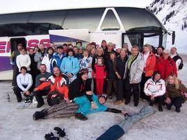 Skiausfahrt Arlberg 2009