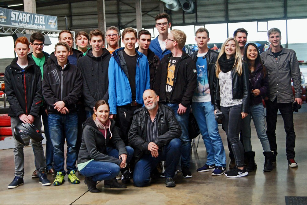 Kartfahren Jugendgruppe 2016