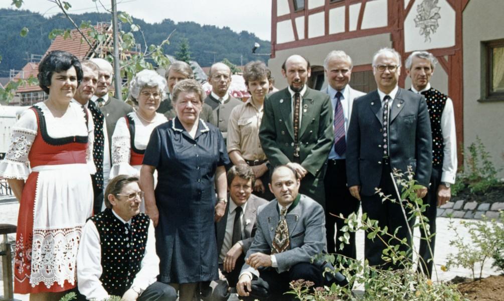 SAV-Ausschuß der OG Onstmettingen 1983