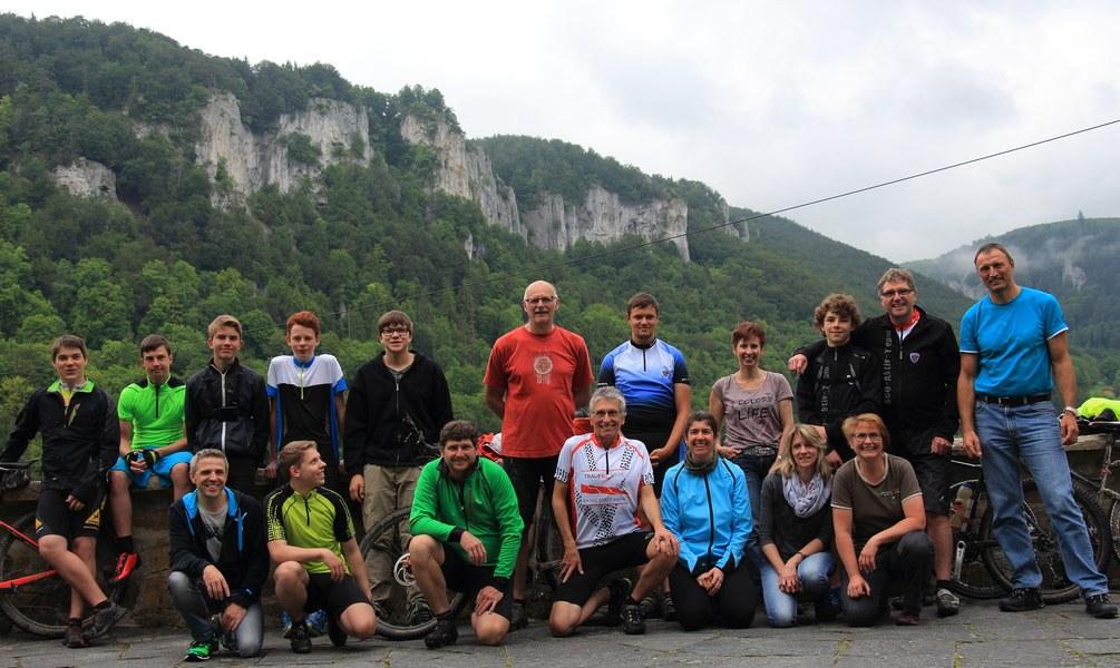 Radtour Donautal 2016