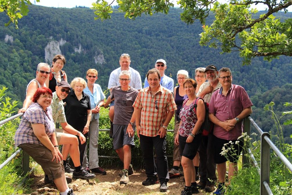 Wanderung Eichfelsen-Panorama-Tour