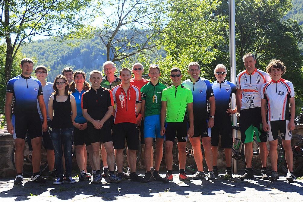 Radtour Donautal 2017