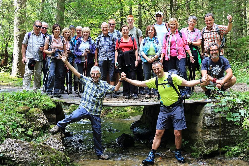 Gebirgswanderung Imberg - Falkenhütte